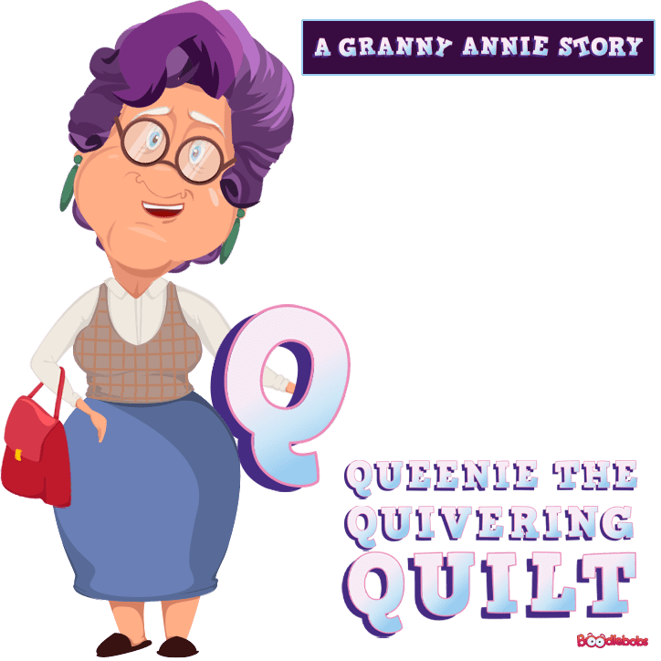 Short Story Podcast - BoodleBobs Queenie the Quivering Quilt