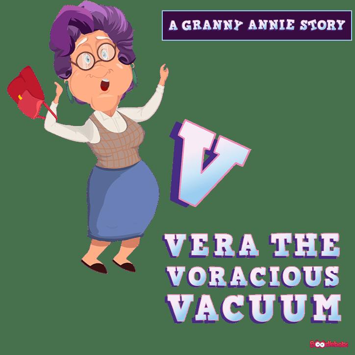 Book Podcast, Vera the Voracious Vacuum