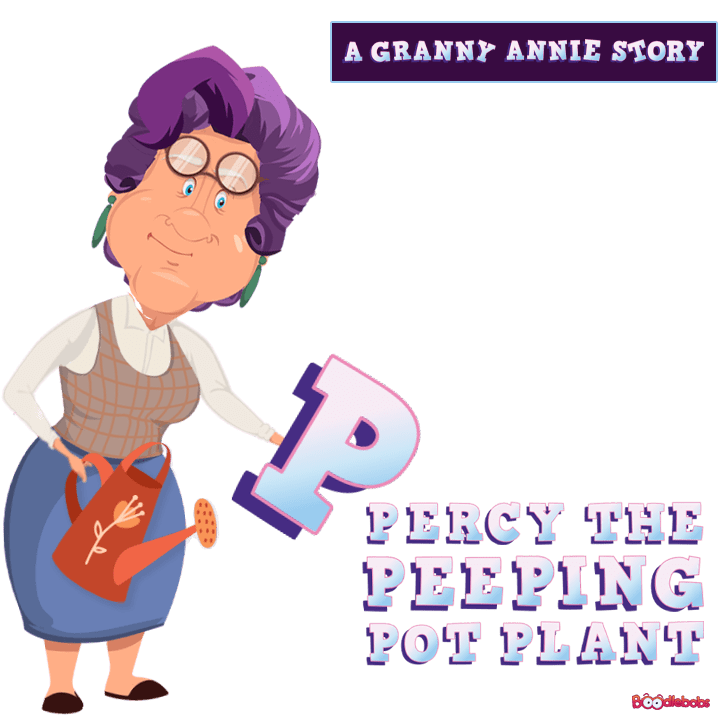 Read Aloud Book, Percy The Peeping Pot Plant Book Cover