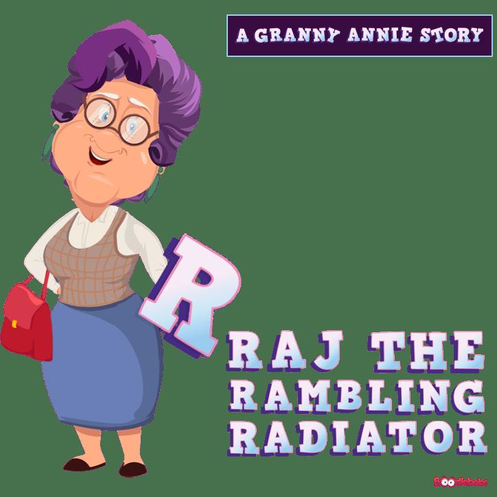 Stories For Kids - Raj The Rambling Radiator Book Cover