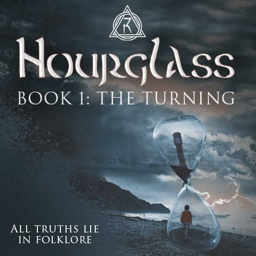Out Now - Hourglass Book One 'The Turning' By Jo Kemp